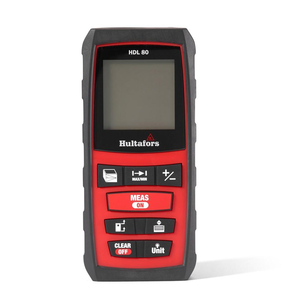Laser avstandsmåler HDL 80 m IP54 HULTAFORS