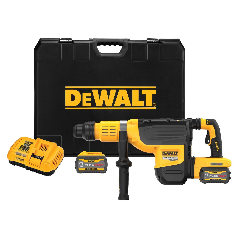 Borhammer SDS-max, 2x54V/9Ah 10kg 52mm DCH775X2 DEWALT