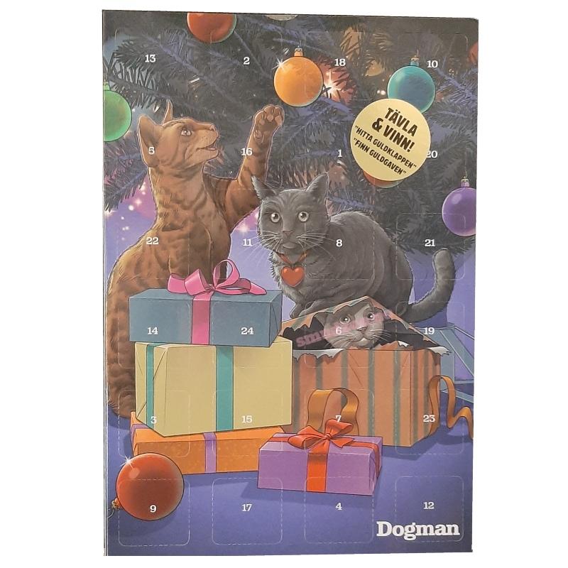 Dogman julekalender katt