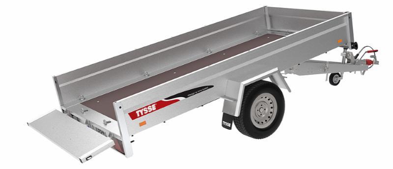 TYSSE TILHENGER 6220 FS MED SKRUTIPP - 1300 KG
