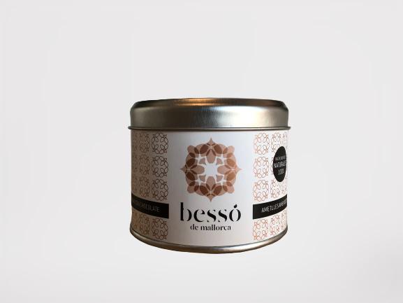 Besso mandler 120gr, sjokolade