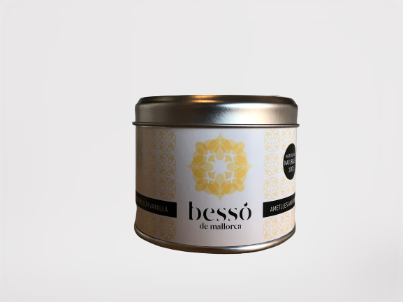 Besso mandler 120gr, vanilje