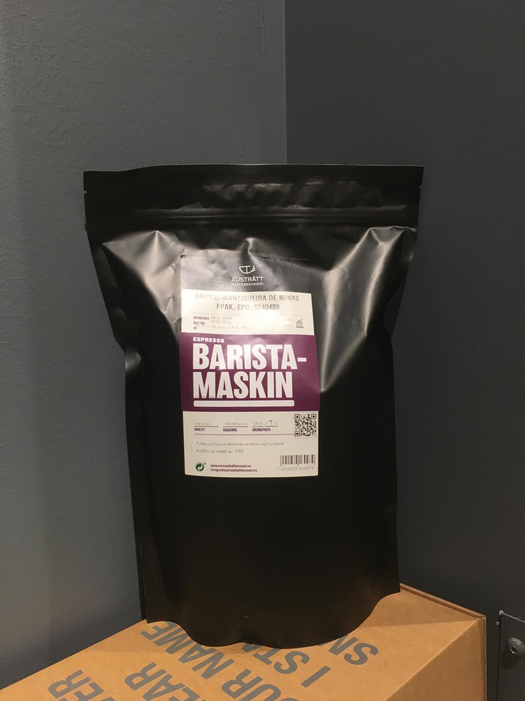 Espresso barista-maskin, 1kg