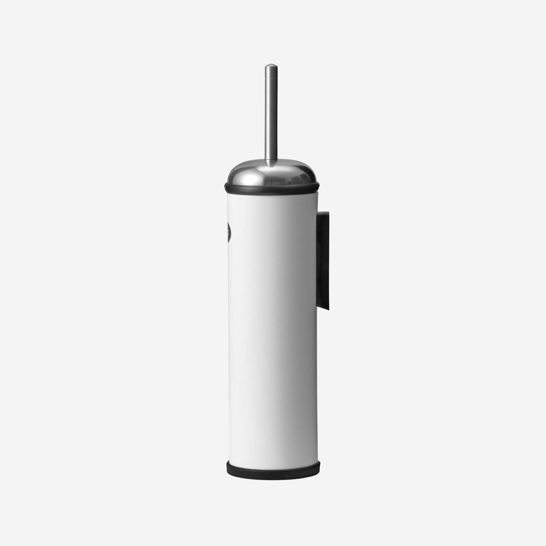 VIPP11W - Toalettbørste til vegg, hvit