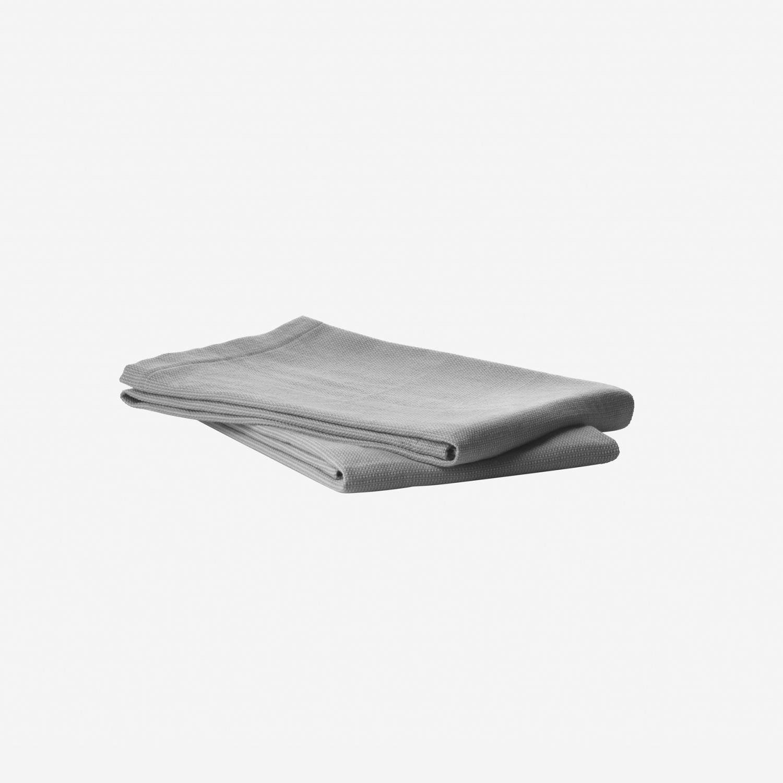 VIPP121 - Kjøkkenhåndkle, 2stk grå