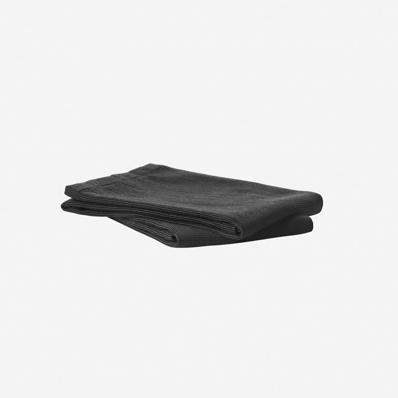 VIPP121 - Kjøkkenhåndkle, 2stk svart
