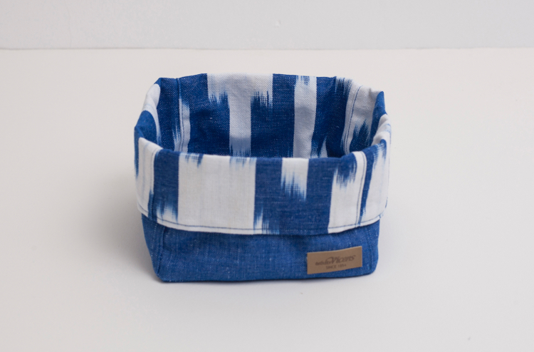Vicens - Brødkurv stor, blå