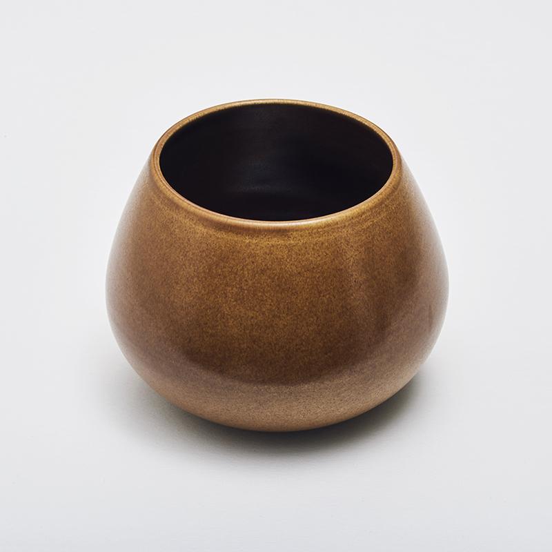LAND lav vase, chestnut