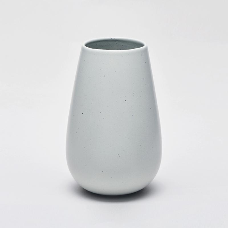 LAND høy vase, pale mint