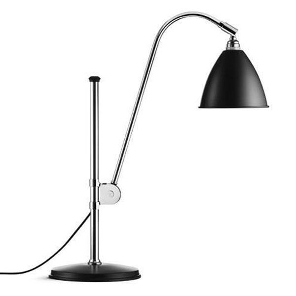 GUBI, BL1 bordlampe, Chrome base