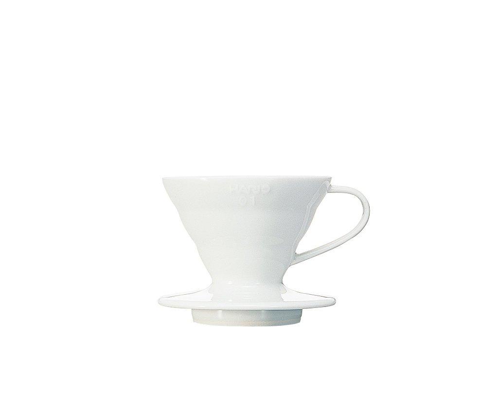Hario - V60 håndbrygger 01, hvit keramikk