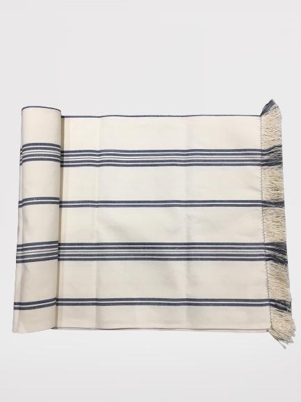 Vicens - Bordløper, grå striper