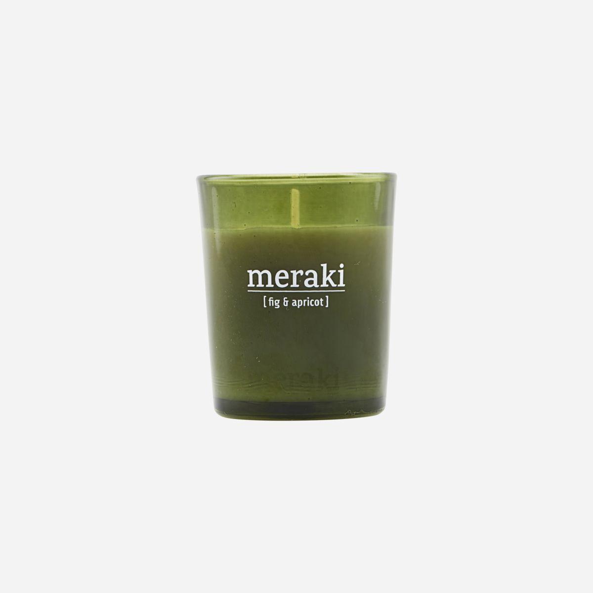 Meraki - Duftlys, fig + apricot, 60g