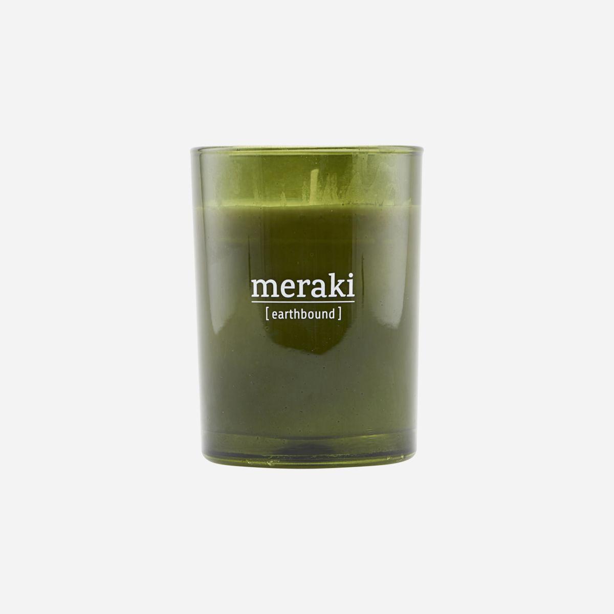 Meraki - Duftlys, earthbound, 120g