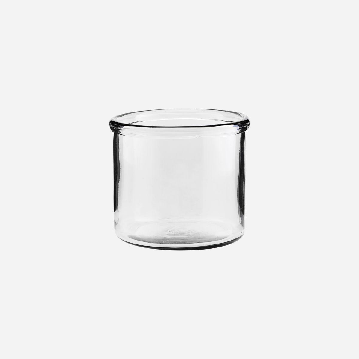 House Doctor - Vase, Reem, klar, lav