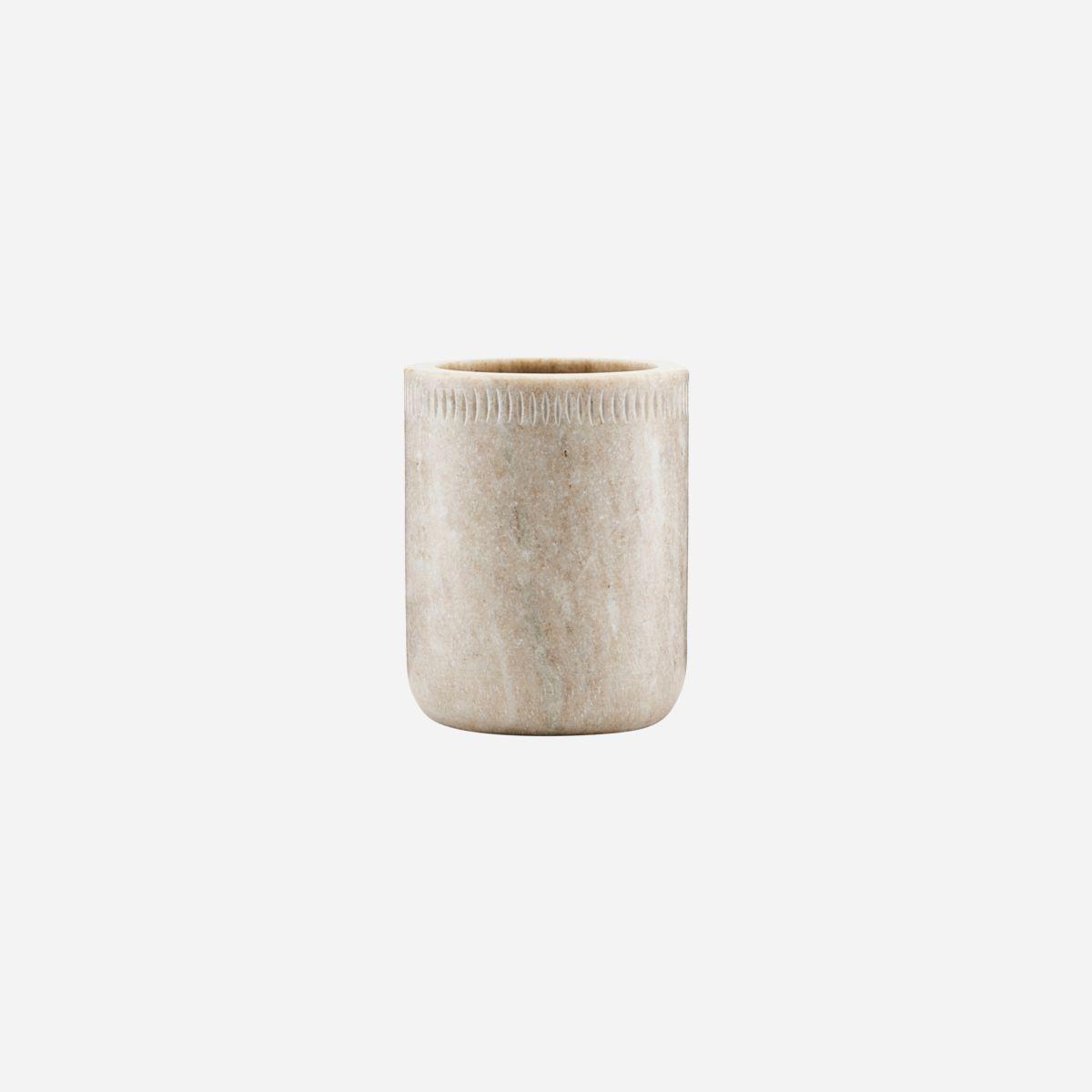 Nicolas Vahe - Oppbevaringsskål, Marble, marmor