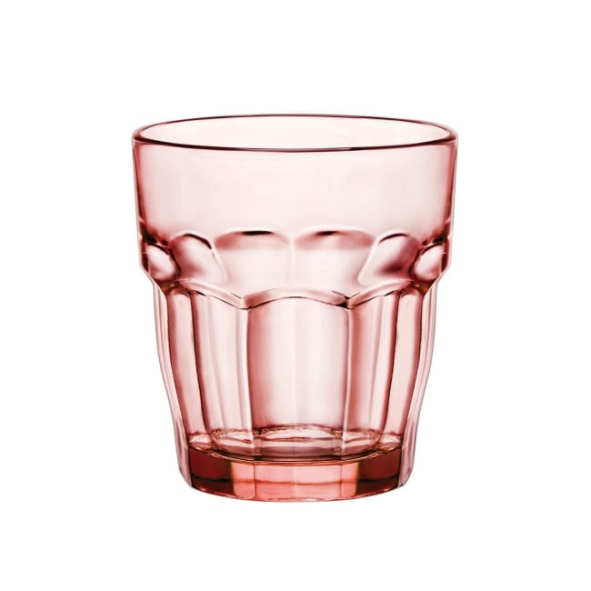 Bormoli Rock Bar glass 27cl rosa