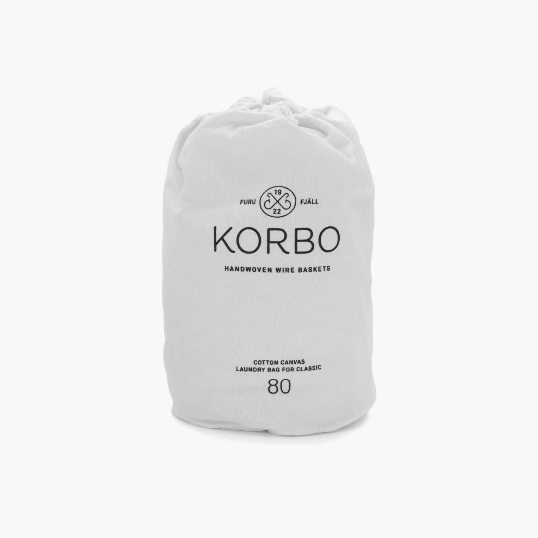 Korbo - Laundry bag for Classic 80 hvit