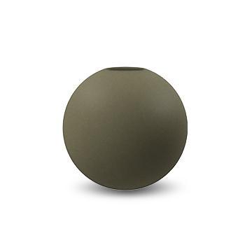 COOEE - Ball Vase 10 cm olive