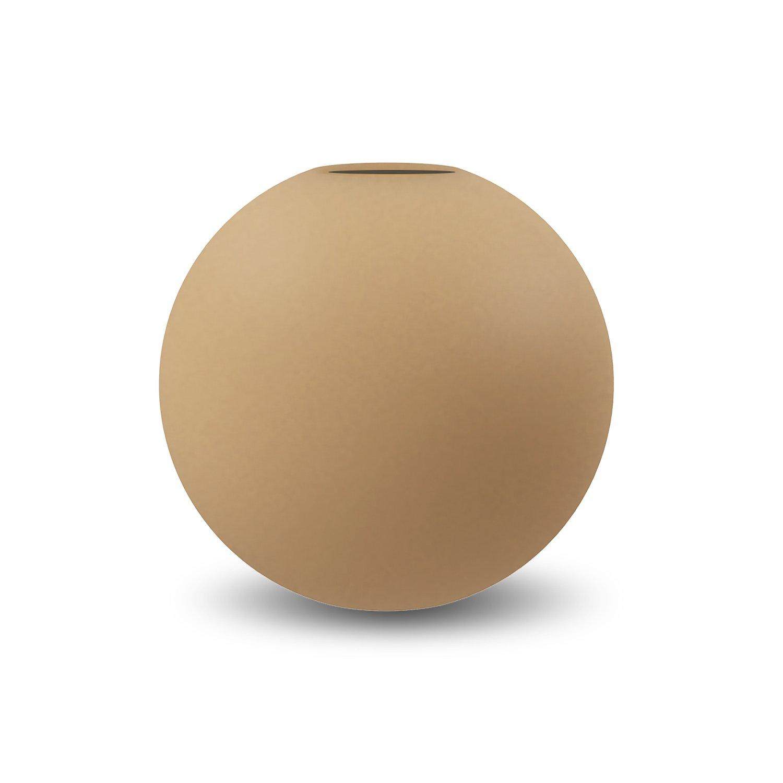 COOEE - Ball Vase 20cm peanut