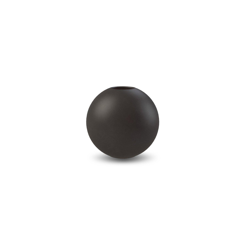 COOEE - Ball Vase 8cm, svart