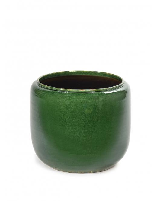 Serax - Blomsterpotte, grønn, medium D21 H21