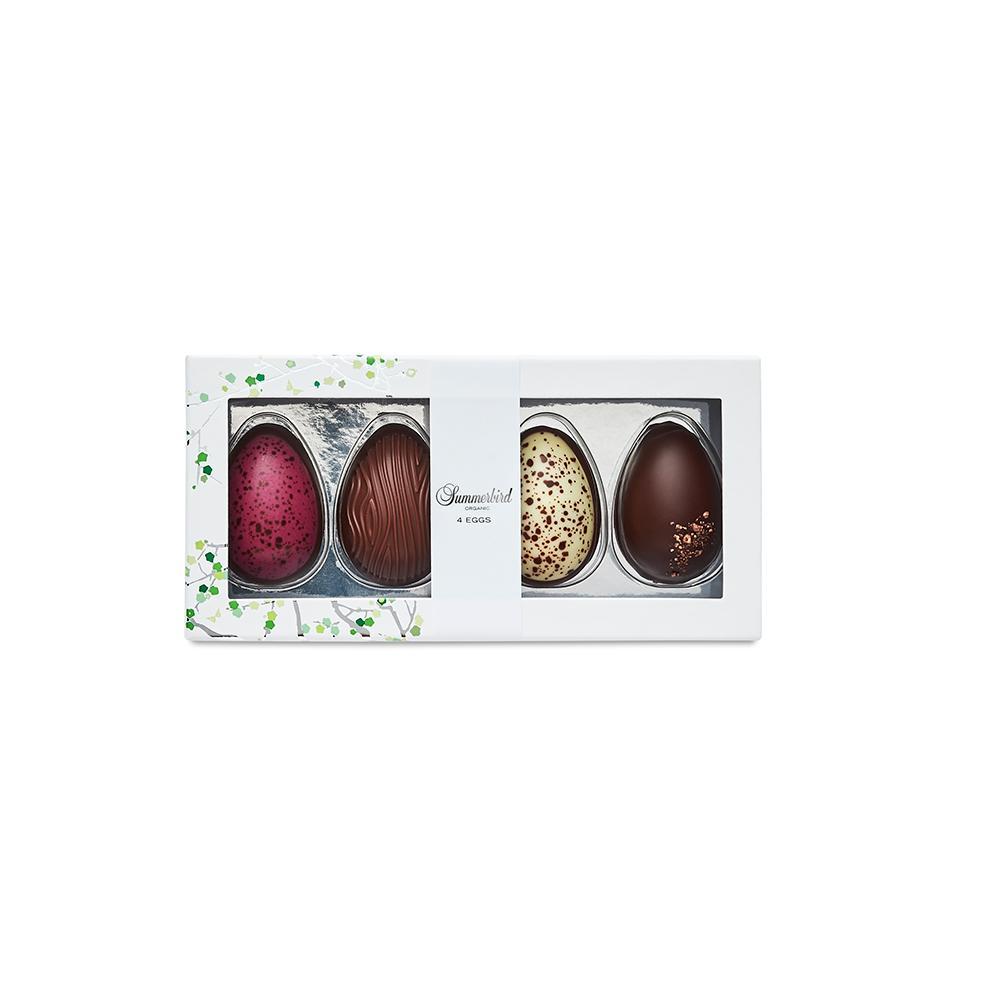sjokoladeegg 4 stk 120 gr