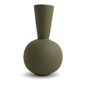 COOEE - Trumpet Vase 30 cm Olive
