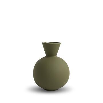 COOEE - Trumpet Vase 16 cm Olive