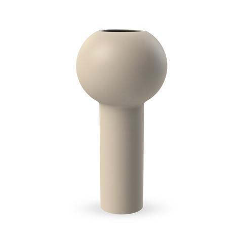 COOEE - Pillar vase 32cm, sand