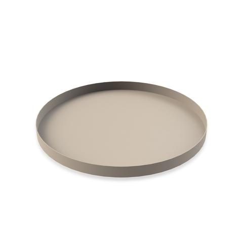 COOEE - Tray circle 40 cm Sand