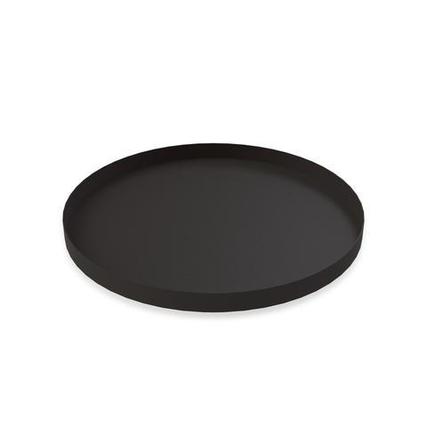 COOEE - Tray circle 40 cm Svart