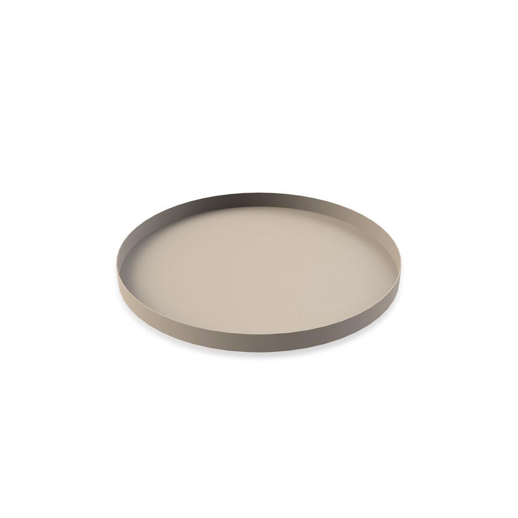 COOEE - Tray circle 30 cm Sand