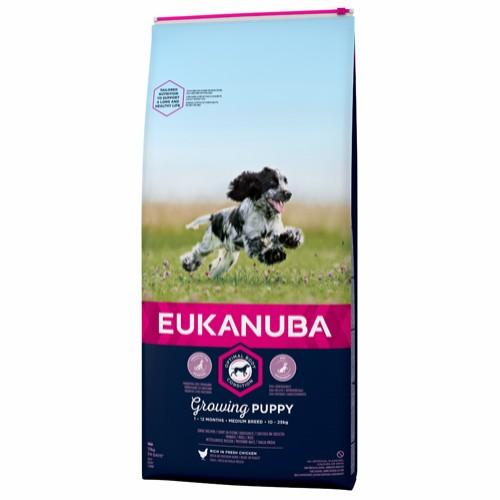 Euk Growing Puppy Medium 15 kg