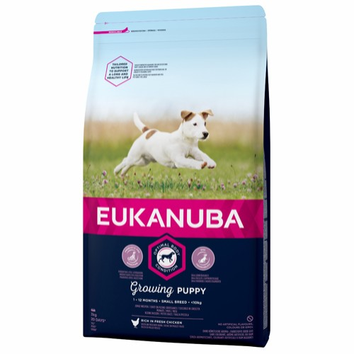 Euk Growing Puppy Small 3 kg