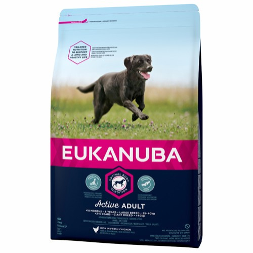 Euk Active Adult Large Breed 3 kg