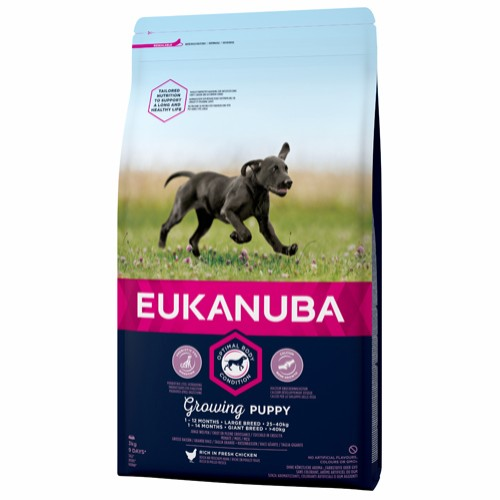 Euk Growing Puppy Large 3 kg