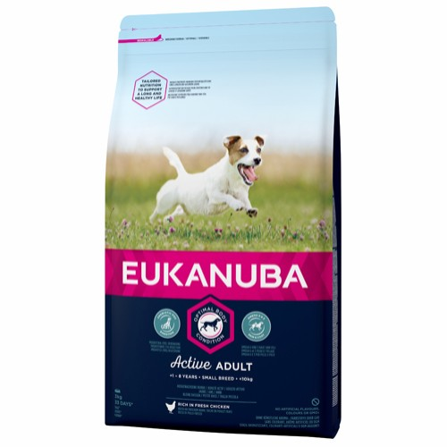 Euk Active Adult Small Breed 3 kg