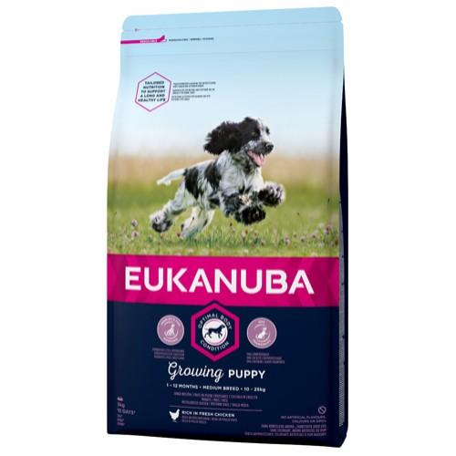 Euk Growing Puppy Medium 3 kg