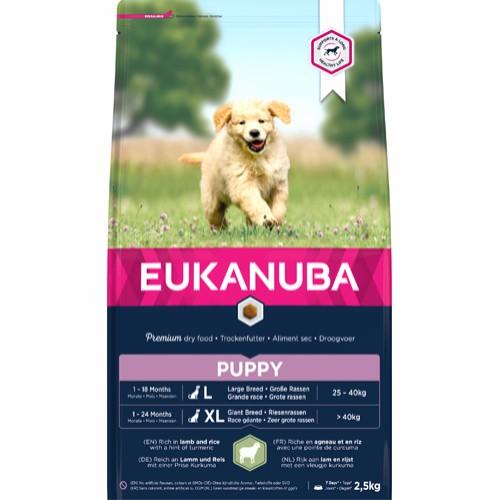 Euk Puppy Large Lamb & Rice 2,5 kg