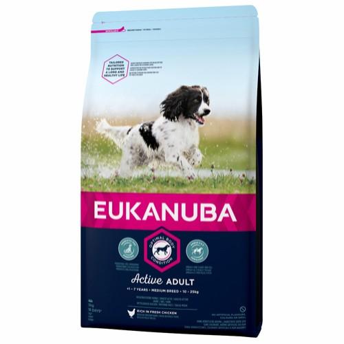 Euk Active Adult Medium Breed 3 kg