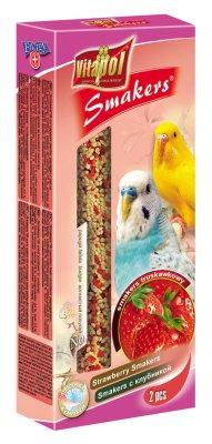 Vitapol Smakers Undulat Jordbær 90Gr