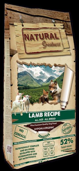 NG Lamb Recipe - Sensitive 12 KG