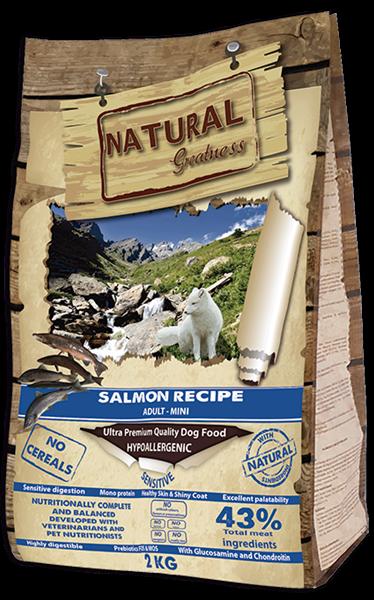 NG Salmon Mini Recipe – Sensitive 2 KG