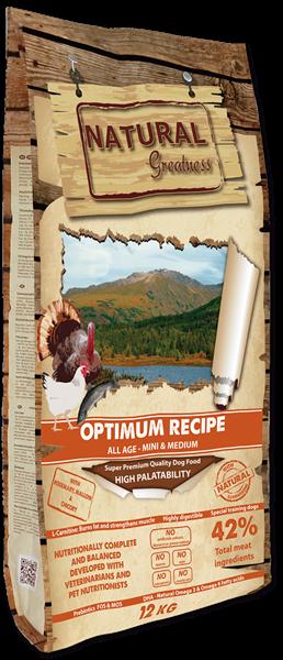 NG Optimum Recipe - Mini Medium 12 KG