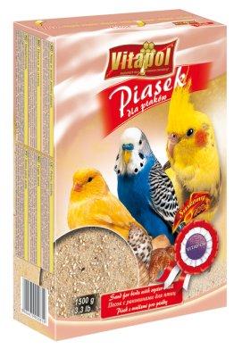 Vitapol Fuglesand Med Snackskall 1.5Kg