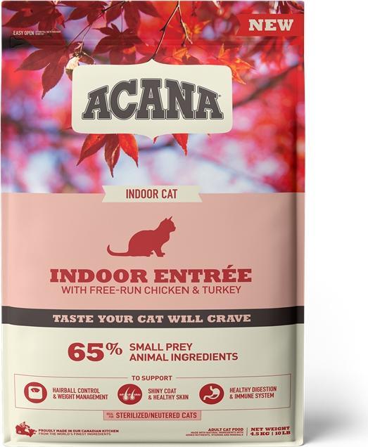 Acana Cat Indoor Entree 4,5 kg
