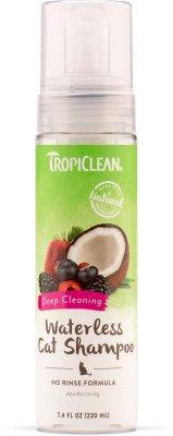 Tropiclean Waterless Cat Shampoo Deep Cleaning 220ml