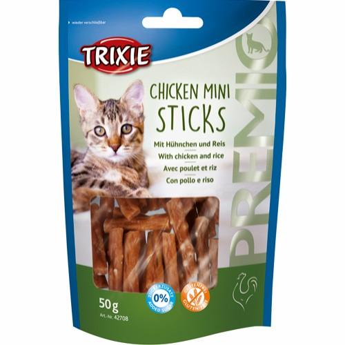 Premio Mini Sticks, Kylling/Ris, 50 G