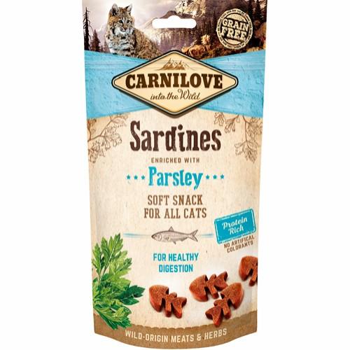 Carnilove Cat Semi Moist Snack Sardine 50G